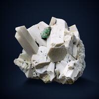 Fluorite On Microcline