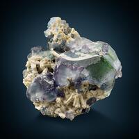 Fluorite With Microcline