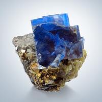 Fluorite & Arsenopyrite Sphalerite