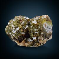 Fluorite & Chalcopyrite