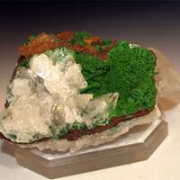 Calcite & Conichalcite