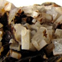 Baryte On Siderite