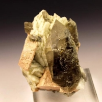 Smoky Quartz & Orthoclase