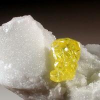 Sulphur On Marble