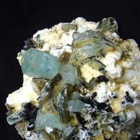 Aquamarine & Tantalite-(Mn)