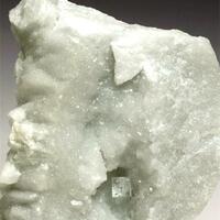 Fluorite On Marble
