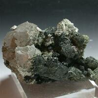 Arsenopyrite & Hedenbergite