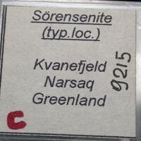 Sørensenite