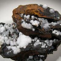 Aragonite With Calcite