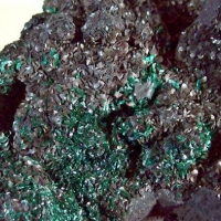 Malachite With Siderite