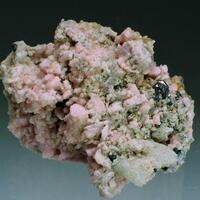 Rhodochrosite Calcite Quartz Bournonite & Gypsum