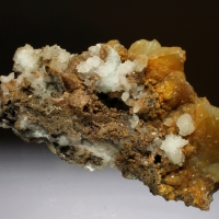 Cadmian Smithsonite & Calcite