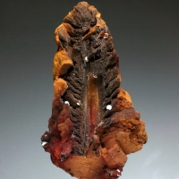 Limonite Gypsum Aragonite & Fluorite