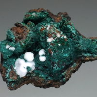 Rosasite Adamite Aragonite Calcite & Limonite