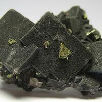 Fluorite & Hematite & Chalcopyrite