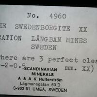 Swedenborgite