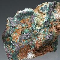 Malachite Cuprite & Quartz