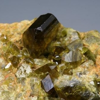 Titanite & Grossular