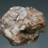 Quartz On Calcite