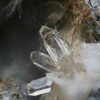 Fluorapophyllite-(K) Sazhinite-(Ce) & Aegirine