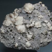 Baryte Fluorite & Chalcopyrite