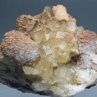Fluorite Calcite Siderite & Baryte