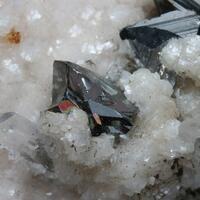 Tetrahedrite Quartz & Calcite