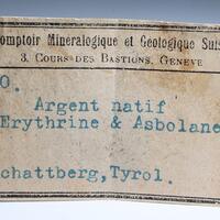 Native Silver Erythrite & Asbolane