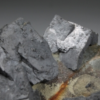 Galena On Schalenblende
