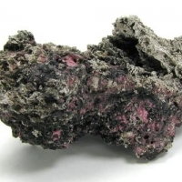Native Silver & Erythrite