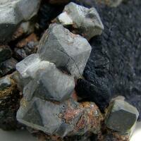 Uraninite & Fluorite Var Antozonite