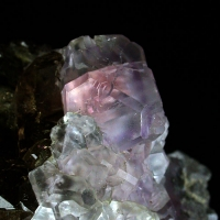 Fluorite & Smoky Quartz