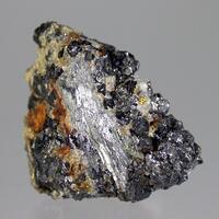 Bismuthinite & Magnetite