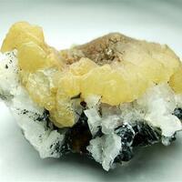 Calcite Hematite & Siderite