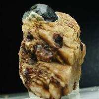 Franklinite With Spessartine & Orthoclase