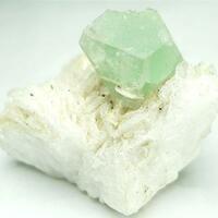 Hydroxylherderite With Albite