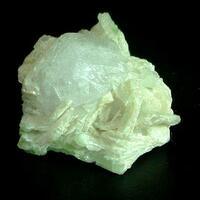 Pollucite With Tourmaline & Cleavelandite