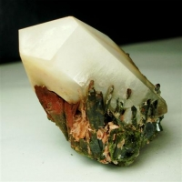 Quartz With Chrysotile Inclusions & Epidote
