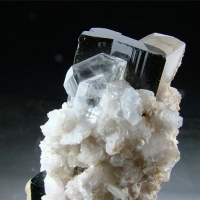 Elbaite Goshenite Quartz & Cleavelandite