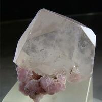 Lepidolite With Quartz