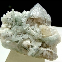 Apatite With Albite & Quartz