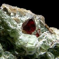 Clinohumite With Dolomite & Clinochlore