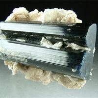 Elbaite With Cleavelandite & Quartz