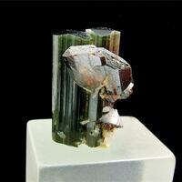 Elbaite With Tantalite-(Mn)