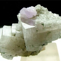 Fluorapatite With Adularia & Cleavelandite