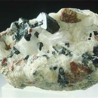 Franklinite With Chondrodite