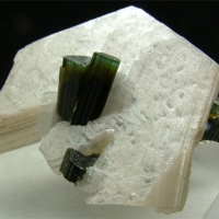 Elbaite With Muscovite