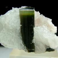 Elbaite With Hambergite & Cleavelandite