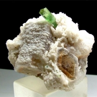 Elbaite With Lepidolite & Cleavelandite