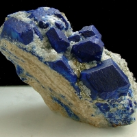 Lapis Lazuli With Pyrite